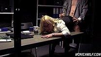 Secretária safadinha fudendo gostoso com seu chefe tarado