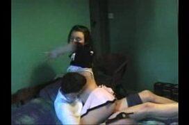 Video caseiro caiu na net com novinha amadora trepando