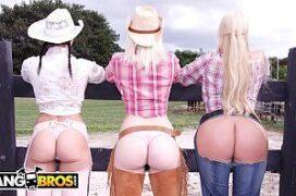 BangBros Porno HD com três gostosas